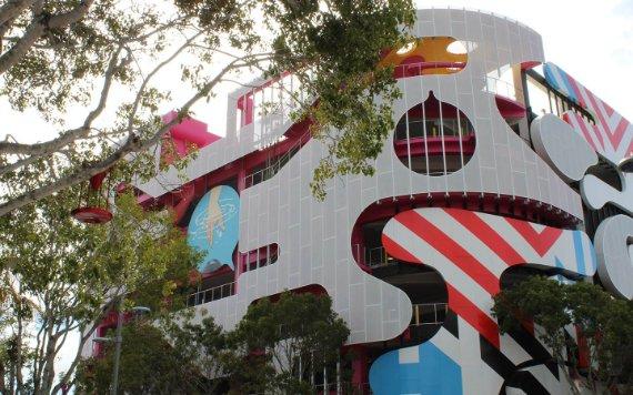 Garaje del museo en el Miami Design District