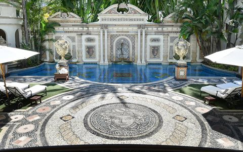 Peek Inside The Iconic Versace Mansion On South Beach