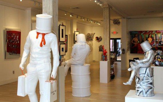Galería en el Miami Design District