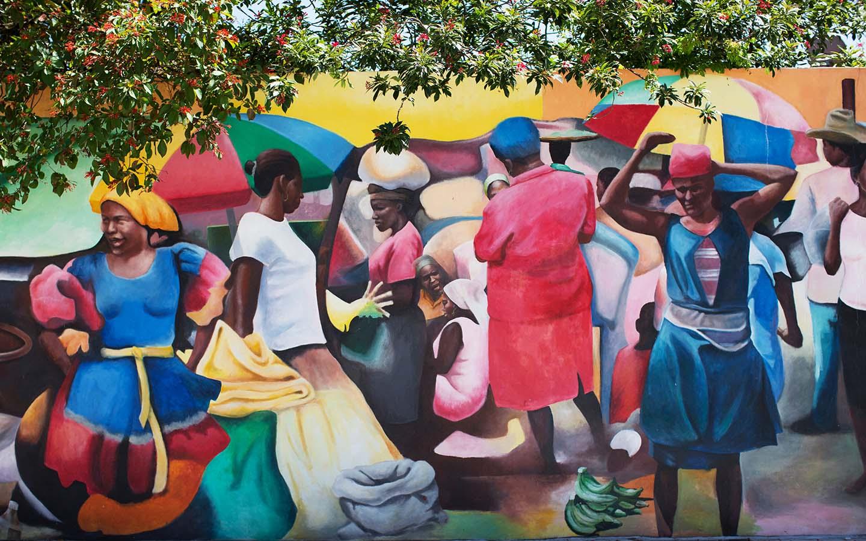 Little Haiti Wandgemälde
