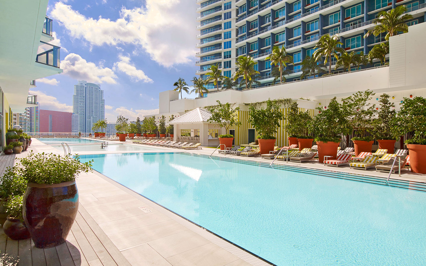 Pool at SLS Brickell