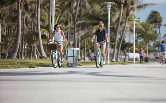Bike around South Beach